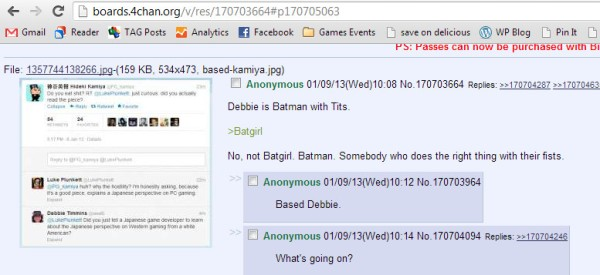 4Chan Batman with Tits